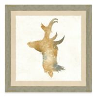 Watercolor Animal Head II Framed Art Print