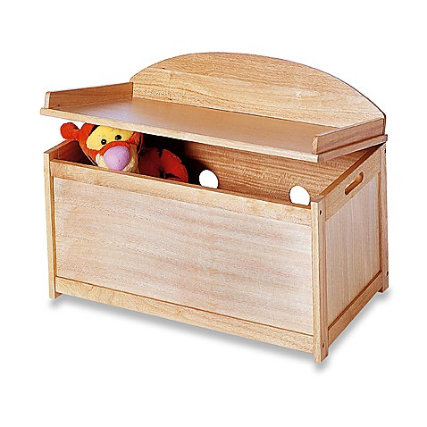 Natural Toy Chest Bench Buybuy Baby