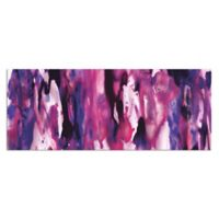 Watercolor Composition Purple Abstract Metal Wall Art