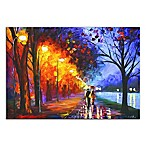 Alley by the Lake Metal Wall Art