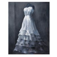 Wedding Gown Canvas Wall Art