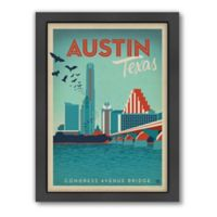 Art & Soul of America™ Austin, Texas Framed Wall Art by Anderson Design Group