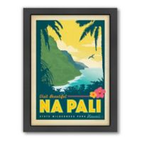 Art & Soul of America™ Na Pali, Hawaii Framed Wall Art by Anderson Design Group