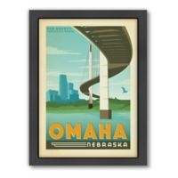 Art & Soul of America™ Omaha Framed Wall Art by Anderson Design Group