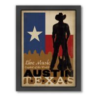 Art & Soul of America™ Austin Cowboy Framed Wall Art by Anderson Design Group