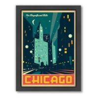 Art & Soul of America™ Chicago: Mod Magnificent Mile Framed Wall Art by Anderson Design Group