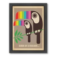 Mod Toucans Framed Wall Art by Anderson Design Group