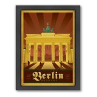 World Travel Berlin Framed Wall Art by Anderson Design Group