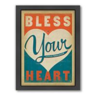"""""""Bless Your Heart"""" Framed Wall Art by Anderson Design Group"""