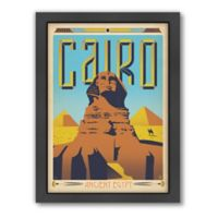 World Travel Cairo Framed Wall Art by Anderson Design Group