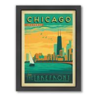 Art & Soul of America™ Chicago: Lakefront Framed Wall Art by Anderson Design Group