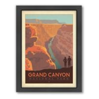 Grand Canyon National Park: River View Framed Wall Art by Anderson Design Group