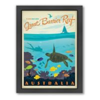 World Travel Great Barrier Reef Framed Wall Art by Anderson Design Group