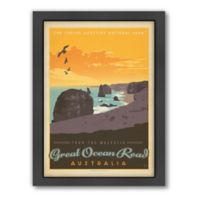 """Great Ocean Road"" Framed Wall Art by Anderson Design Group"
