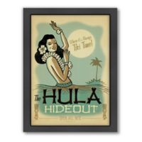 """Hula Hideout"" Framed Wall Art by Anderson Design Group"