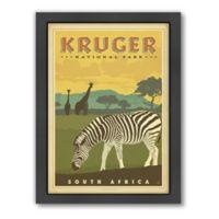 World Travel Kruger National Park: South Africa Framed Wall Art by Anderson Design Group