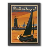 Art & Soul of America™ Martha's Vineyard, Sailboat Framed Wall Art by Anderson Design Group