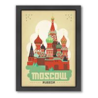 World Travel Moscow Framed Wall Art by Anderson Design Group