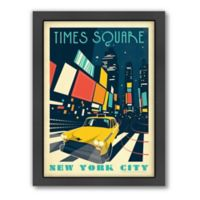Art & Soul of America™ New York City, Times Square Framed Wall Art by Anderson Design Group