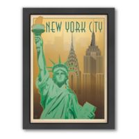 Art & Soul of America™ New York City: Skyline Framed Wall Art by Anderson Design Group