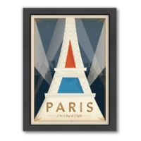 World Travel Paris Mod Framed Wall Art by Anderson Design Group