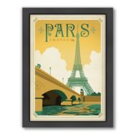 World Travel Paris, France Framed Wall Art by Anderson Design Group