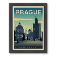 World Travel Prague Framed Wall Art by Anderson Design Group