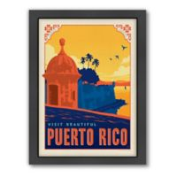 World Travel Puerto Rico Framed Wall Art by Anderson Design Group