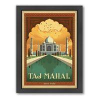 World Travel Taj Mahal Framed Wall Art by Anderson Design Group