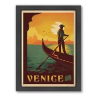 World Travel Venice Framed Wall Art by Anderson Design Group