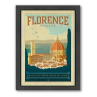 World Travel Florence Framed Wall Art by Anderson Design Group