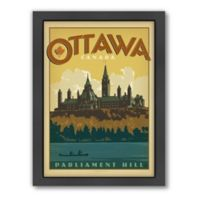 World Travel Ottawa Framed Wall Art by Anderson Design Group