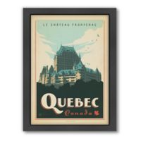 World Travel Quebec Framed Wall Art by Anderson Design Group