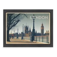 World Travel London Framed Wall Art by Anderson Design Group