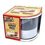 Just Grillin' Burgers On the Go Multi-Burger Press