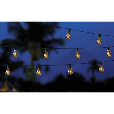 String Lights In Bathroom : Filament 10-Bulb String Lights - Bed Bath & Beyond