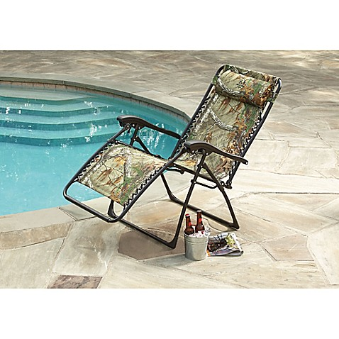 Relaxer Zero Gravity Chair In Realtree 174 Camo Bed Bath