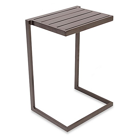 Nesting Slat Top Snack Table Bed Bath Amp Beyond
