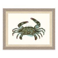 Framed Giclée Crab Print II Wall Art