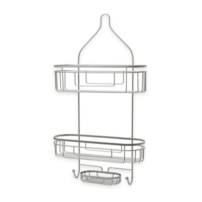 Buy org neverrust shower caddy from bed bath beyond for Caddy corner bed