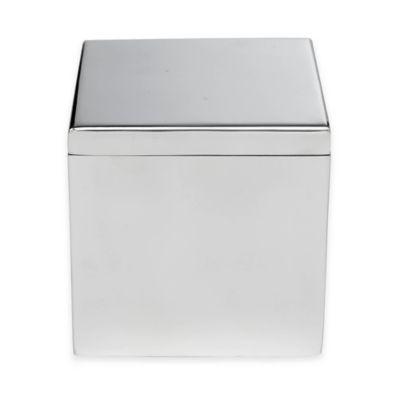 Roi Trading Modern Bath Jar In Stainless Steel