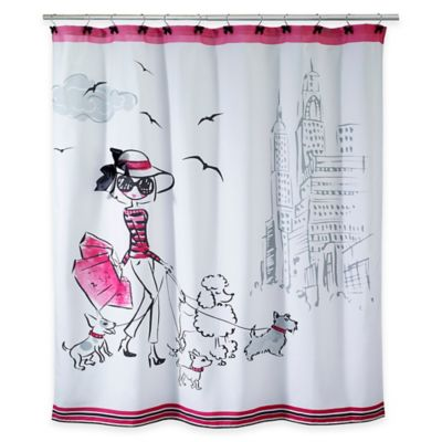 buy shower curtain ensembles from bed bath  beyond, Home design