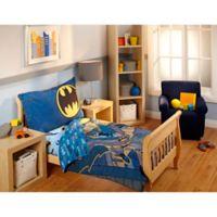 DC Comics™ Batman 4-Piece Toddler Bedding Set