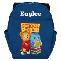 Daniel Tiger's Neighborhood Daniel and O Toddler Backpack in Blue