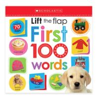 """Scholastic """"Lift the Flap: First 100 Words"""" Board Book"""