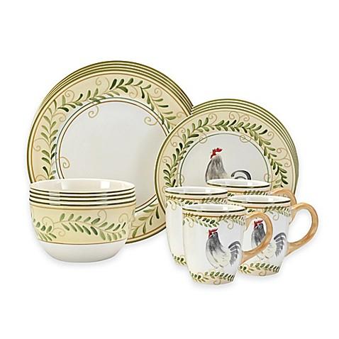 Pfaltzgraff® Country Cottage 16-Piece Dinnerware Set  sc 1 st  Bed Bath \u0026 Beyond & Pfaltzgraff® Country Cottage 16-Piece Dinnerware Set - Bed Bath \u0026 Beyond