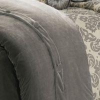 HiEnd Accents Kerrington Queen Duvet Cover in Grey