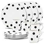 kate spade new york All in Good Taste™ Deco Dot 12-Piece Dinnerware Set