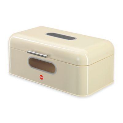 Buy hailo kitchenline bread bin oval in beige from bed for Beige bathroom bin