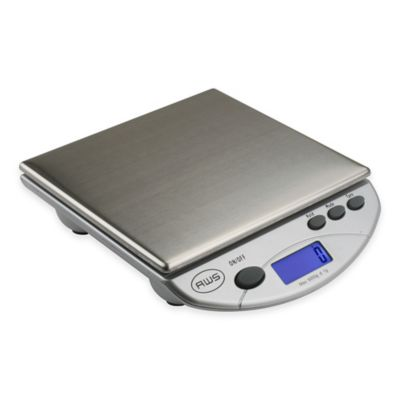 American Weigh Scales Digital Kitchen/Postal Scale In Silver
